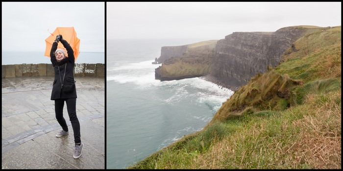 Irlande Cliffs of Moher Ekla